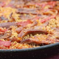 Food Rice Spanish Food Paella